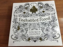 Enchanted Forest An Inky Quest Art Coloring Book Graffiti Painting Drawing Book For Children And Adult Relieve