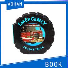 Coloração crianças eva livro placa de espuma roda de engrenagem forma de crianças eva livro