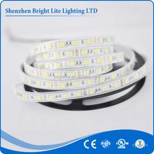 5050-Waterproof IP66 cold white 60LED/meter UL certificate 12v battery powered led strip light