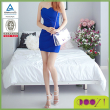 South Korea 2015 summer simple sexy wrap chest bag hip strapless gown self-cultivation backing dress