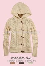 2012 ladies new hoody sweater jacket for winter