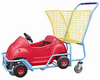 RH-SK05 Plastic car cartoon children shopping cart