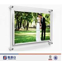 Custom diy family wall mounted acrylic wedding photographs/acrylic frames photo