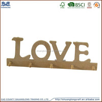best selling new high quality wholesale wooden wall key holder