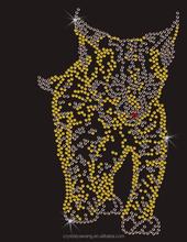 motif transfer panther rhinestone