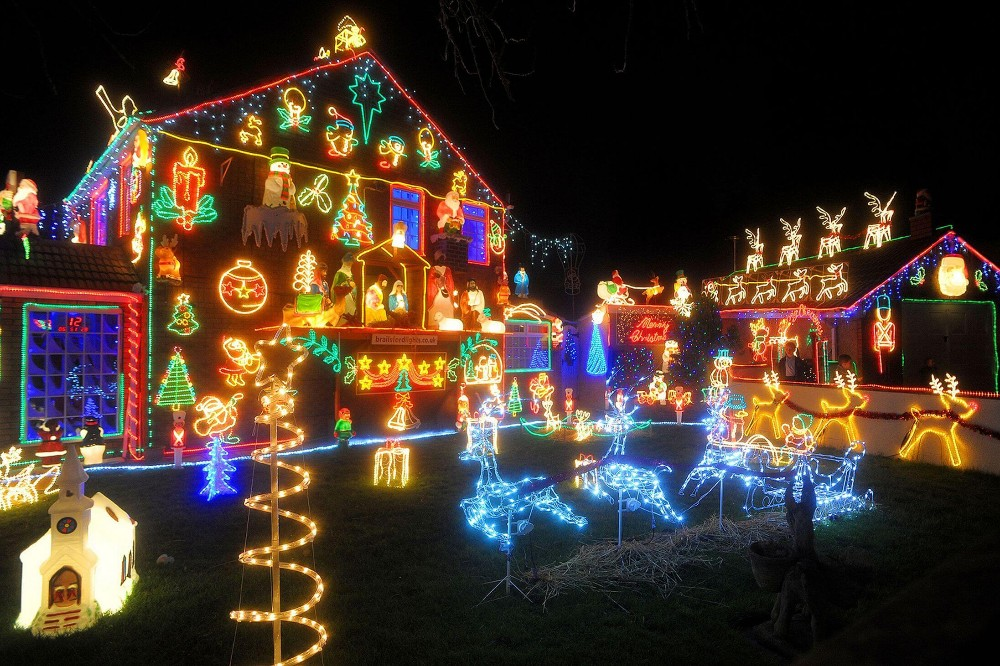 Christmas Led Light Show