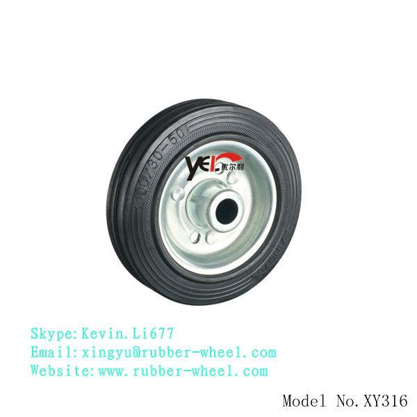 Petite roue en acier de 4 pouces pour le chariot