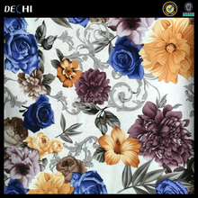 Floral printed fabric for exclusive of decoration