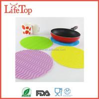 Kitchen Silicone Heat-resistant mats Silicone Hot Pot Holder, Trivet Mat