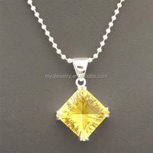 China jewelry glass stone pendants