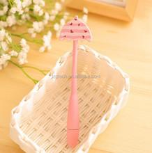 Candy-colored umbrella bent cartoon ballpoint pen cartoon ,Flexible Ballpoint Pen