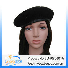 wholesale 100%wool felt hats for babies baby berets made in china manufacturer