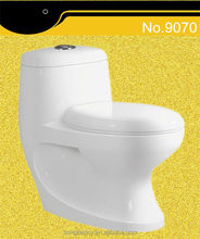 Power flushing 4 inch outlet washdown one piece toilet