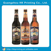 custom self adhesive wine label beer label