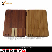 NEW Real Natural Bamboo Wood Hard Back Case Cover for iPad Mini .