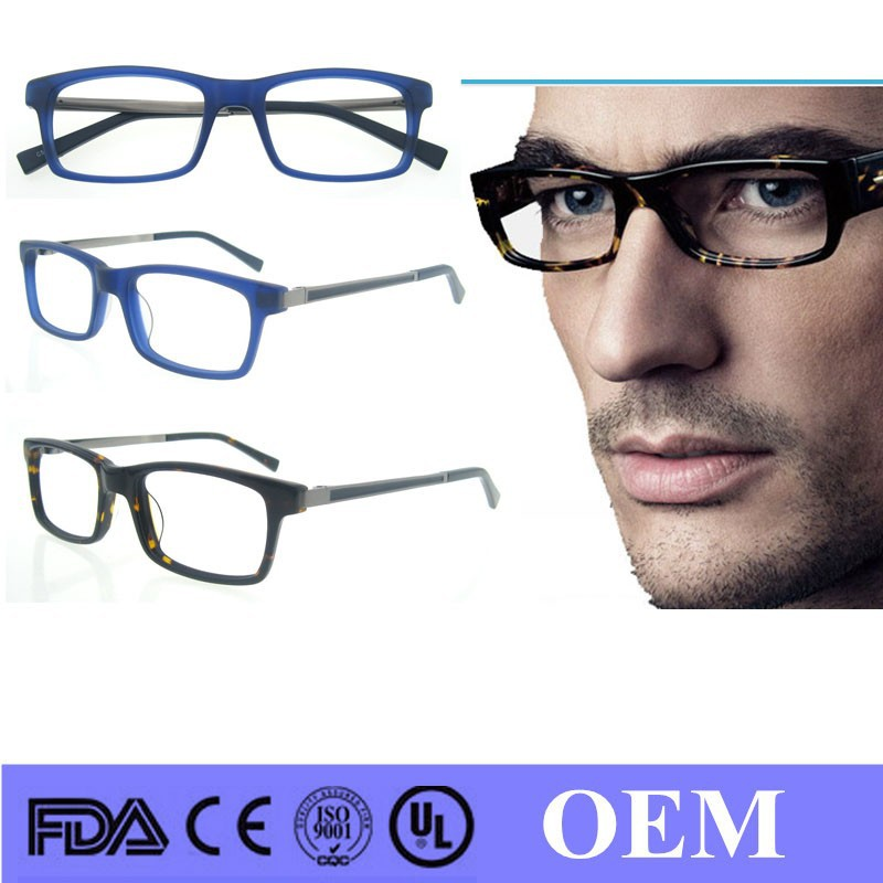 Mens Eyeglass Frame Styles 2015 : 2015 new style acetate eye glasses frame italian eyeglass ...