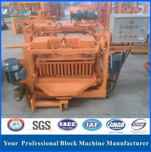 LTMM4-45 small block machine with hy350 mixer , hand operated concrete block making machine