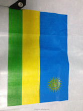 PE tarpaulin printing LOGO/number/flag/picture as customer require