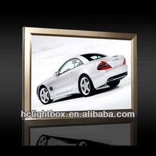 Newest Aluminum Snap Poster Frame Light Box and advertisig Display light box