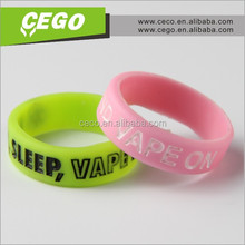 new goods silicone vape band e cigarette accessories mechanical 2015 new vape mod, most popular decorative gifts