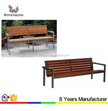 China manufacture wrought iron park bench garden benches