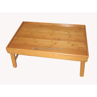bamboo folding tray, breakfast in bed serving tray wholesale