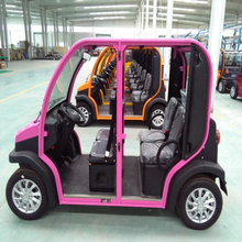 4 seats smart electric mini car for multifunction