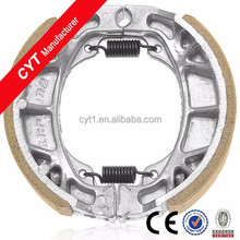 CG125 white Motorcycle Parts High quality Fitting Wear resistant Brake Shoe