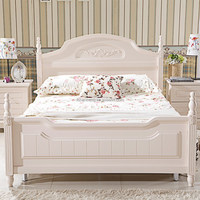 modern teen solid wood bedroom furniture set