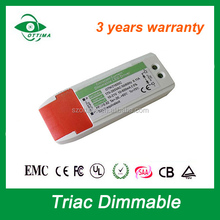 Made in China driver led CE SAA KC approved led dimmable driver 50w for led down light
