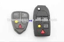 5 botón dominante alejado del tirón cubre para Volvo clave shell