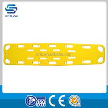 Hot sale SJ-S2 plastic full length confined space ems backboard