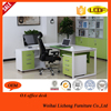 Office Furniture High Quality Wooden Top Steel Computer Desk