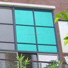 Reflective one vision film for building window tinting, mirror home window glass film on sale