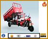 Newly design 250cc cargo 3 wheeler cargo tricycle hydraulic/dumping trikes