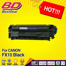 2015 China hottest products for canon compatible toner cartridge fx10