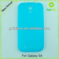 Colored blank cover case for Samsung Galaxy S4
