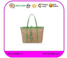 cheap summer corn straw beach bag fashion ladies summer bag