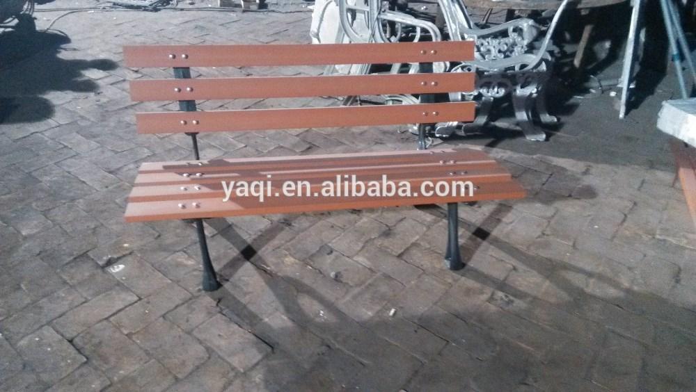 Cast exterior hierro madera banco de jard n for Banco de jardin de hierro y madera