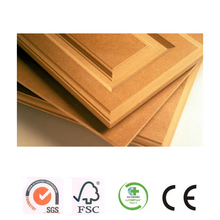 ADMY factory low prices laminated 16mm carb p2 eco green oak veneer mdf panels wholesale