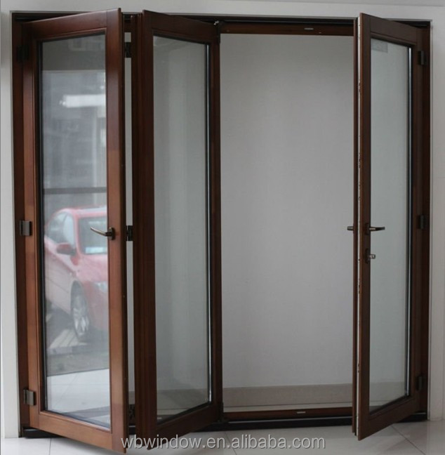 Wholesale pvc horizontal bi fold doors for comfort room for Wholesale windows