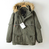 Newest Men's classic padding outdoor jacket with hood