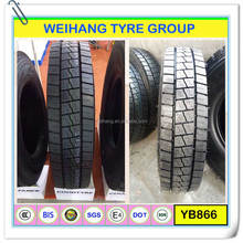 1000R20 18PR YB866 BIS certificate truck tyre for india market
