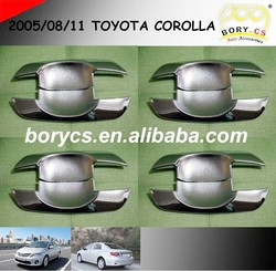 WENZHOU ABS Chromed Door Bowl Cover for 2005 2008 2011 TOYOTA COROLLA