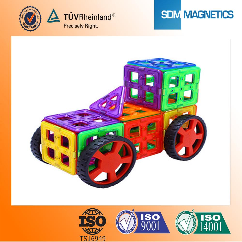Sdm haute qualité magformers jouets avec différentes couleurs