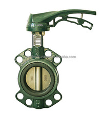 PN16 Lever Cast Iron butterfly Valve