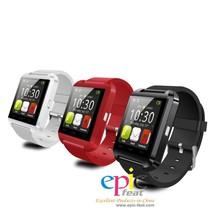 2015 factory price cheap bluetooth watch,led watch,U8 smart watch