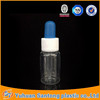 newest style plastic dropper bottle with glue dropper head for e-liquid