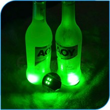 High Quality Party Favor Illuminated Led Sticker Coaster For Bar