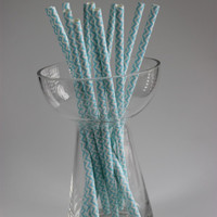 chevron china disposable drinking decorating paper straw